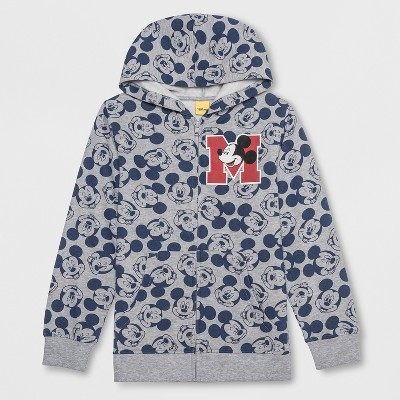 Boys' Mickey Mouse Costume Hoodie - Heather Gray