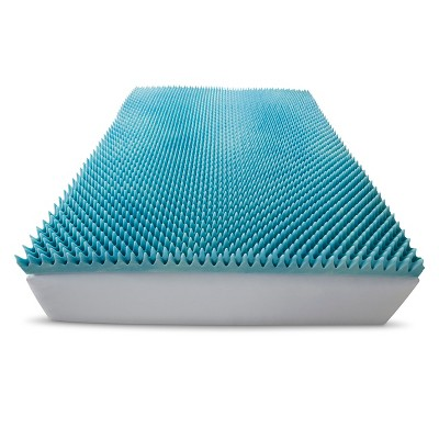 "ComforPedic Loft from Beautyrest 3"" Gel Textured Memory Foam Topper"