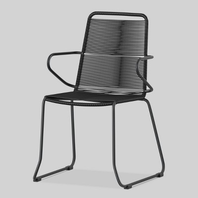 chair with arms wedding cover hire preston cadima 2pk rope patio dining project 62 target