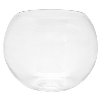 Decorative Glass Bowl - Diamond Star