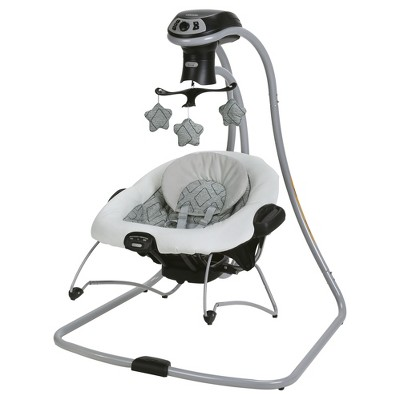 Graco DuetConnect LX with MultiDirection Baby Swing