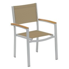 Aluminum Dining Chairs Target Swing Egg Chair Uk Travira Set Of 2 Patio Cocoa Sling Powder Coated About This Item
