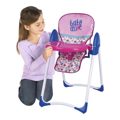 baby toy high chair set printable yoga poses for seniors alive doll deluxe target