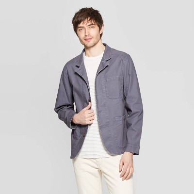 Men's Casual Fit Lightweight Chore Jacket - Goodfellow & Co™ Gray