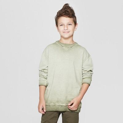 Boys' Crew Pullover - art class™ Green