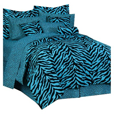 Zebra Print Multiple Piece Comforter Set - Karin Maki®