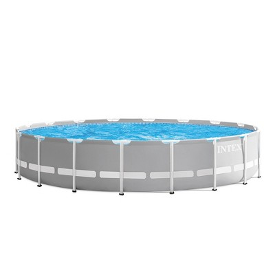 Intex Prism Frame Pool - Gray