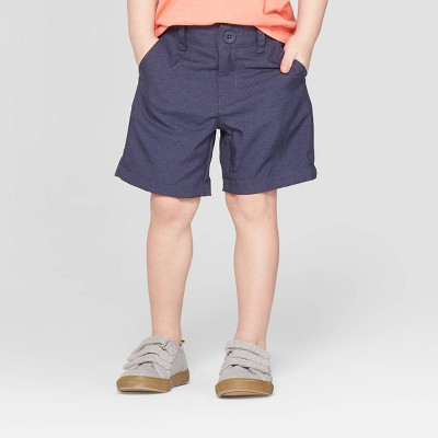 Toddler Boys' Quick Dry Chino Shorts - Cat & Jack™ Tonal Navy
