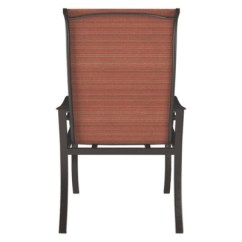 Sling Chair Outdoor Diy Posture Apple Town With 2 Cushion Burnt Orange By More