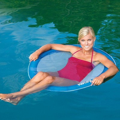 pool chair floats target step ladder swimways float a round swimming floating for adults up to 250 pounds