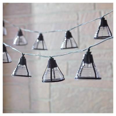 Smart SolarSolar String Light - Bente (Black) - 20 White LEDs Black