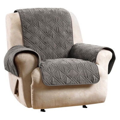 waterproof chair covers for recliners wing slipcovers with separate cushion cover deluxe non skid recliner furniture sure fit target