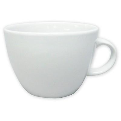 Coupe White Coffee Mug 16oz