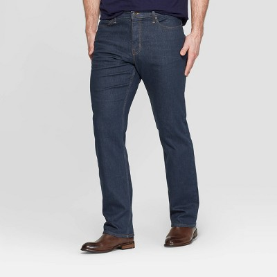 Men's Big & Tall Straight Fit Jeans - Goodfellow & Co™ Blue Gray
