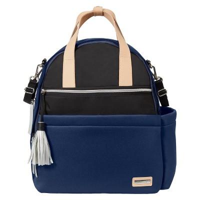 Skip Hop Nolita Neoprene Diaper Backpack - Navy/Black