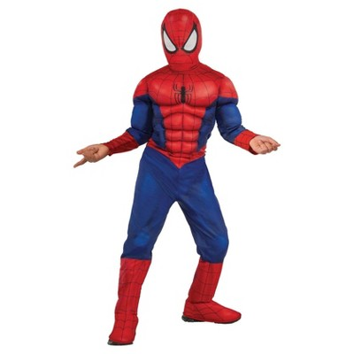 Spider-Man Boys' Muscle Chest Costume