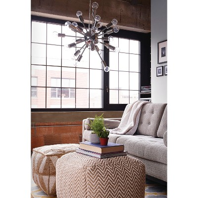 pouf in living room interior design ideas with dining table square threshold target