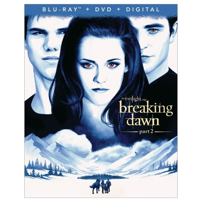 Twilight Saga : The Breaking Dawn - Part 2 (Blu-Ray + DVD + Digital)