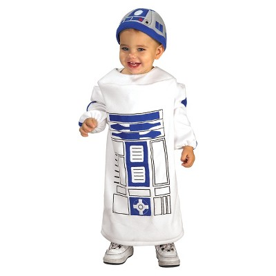 Toddler Star Wars: The Force Awakens R2-D2 Costume 12-24M