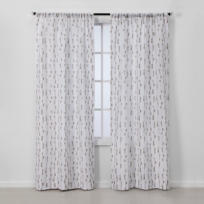2pc Vines Light Filtering Window Curtain Panels - Project 62™