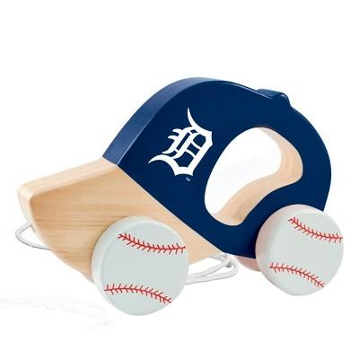 MLB Detroit Tigers Push Pull Baby Toy
