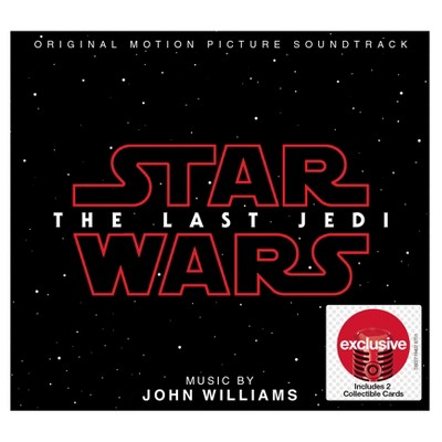 Star Wars - The Last Jedi Soundtrack (Target Exclusive)