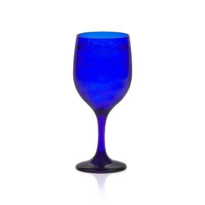 Libbey Glass Goblets 11.5oz Blue - Set of 12