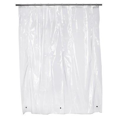 Solid Super Soft Vinyl Shower Liner Clear - Room Essentials™