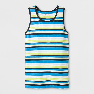 Boys' Stripe Tank Top - Cat & Jack™ Blue