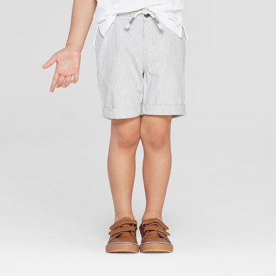 Toddler Boys' Novelty Texture Chino Shorts - Cat & Jack™ Gray
