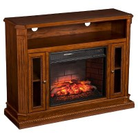 Ashton Infrared Electric Fireplace Media Stand : Target