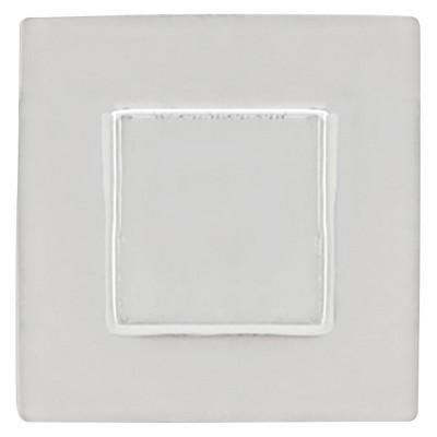Sumner Street Home Hardware - 0.625 - 4 -Piece - Knob - Polished Nickel Rhombus Cube