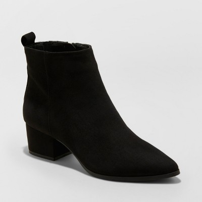 Women's Valerie Microsude City Ankle Fashion Boots - A New Day™