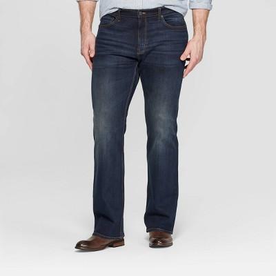 Men's Tall Bootcut Jeans - Goodfellow & Co™ Dark Blue