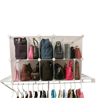Luxury Living Park-a-Purse® Modular Organizer - Clear