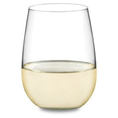 Libbey® 12pc Stemless Red/White Wine Glasses