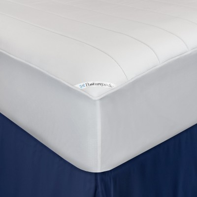 Sealy Posturepedic Washable Memory Foam Fitted Mattress Pad