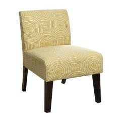 Accent Chair Yellow Adirondack Chairs For Sale Ollano Iii Circular Pattern Acme Target