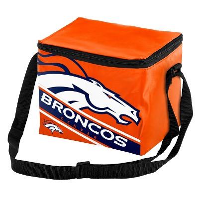 Forever Collectibles - NFL Team Big Logo Stripe 6 Pack Cooler