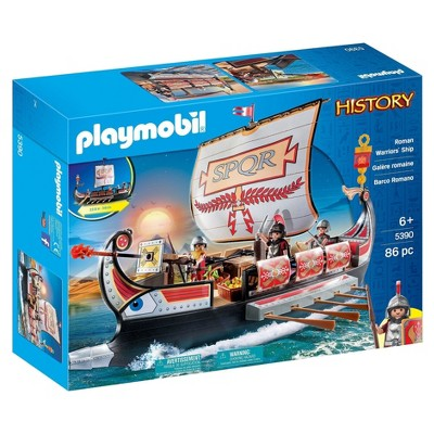 Playmobil Roman Warrior's Ship Playset