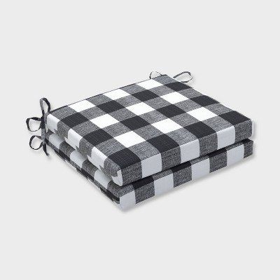 20 x 20 x 3 2pk anderson squared corners outdoor seat cushions black pillow perfect
