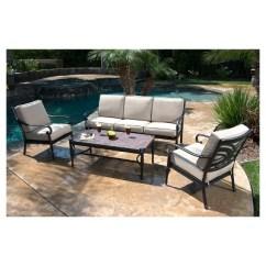 Metal Patio Chair Cosco High Kent 4 Piece Conversation Furniture Set Target