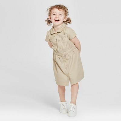 Toddler Girls' Uniform Shirtdress - Cat & Jack™