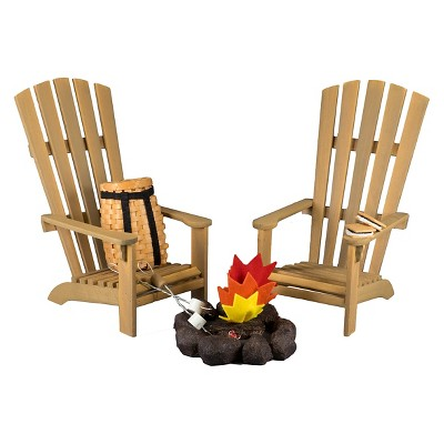 camping chair accessories costco high the queen s treasures 18 inch doll furniture chairs fire pit smores marshmallows target