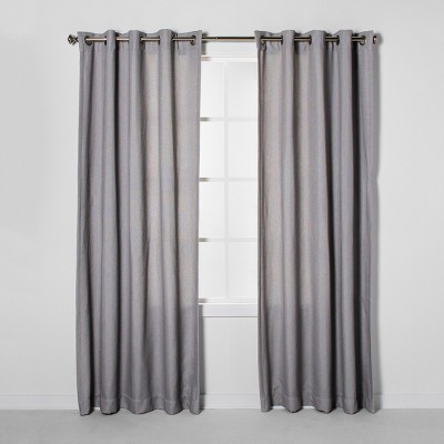 Luster Basket Weave Light Filtering Curtain Panels - Project 62™