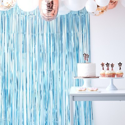 curtain backdrop party decorations