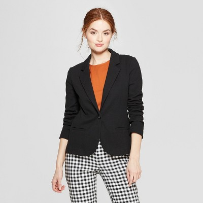 Women's Ponte Knit Blazer - A New Day™
