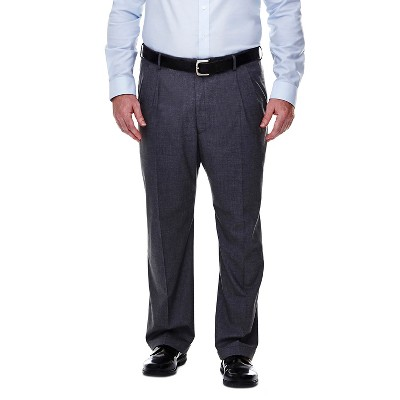 Haggar H26 - Men's Big & Tall Classic Fit Stretch Suit Pants