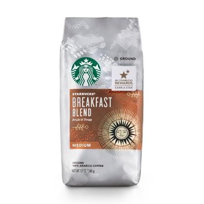 starbucks breakfast blend medium