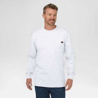 Dickies® Men's Big & Tall Cotton Heavyweight Long Sleeve Pocket T-Shirt